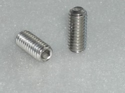 Cup Point Grub Screw