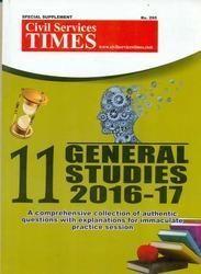 CST 11 General Studies 2016-17