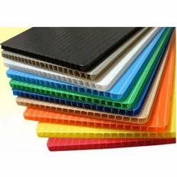PP Plastic Corrugated Sheet