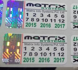 Holographic Paper Labels