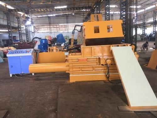 Triple Jumbo Scrap Baling Machine