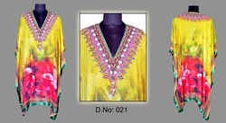 Multi Colored Beach Kaftan