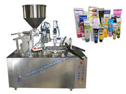 Tube Filling and Sealing Machine - Rotary Type