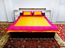 Diamond Pink Gold Jaipur Razai