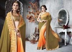 Stylish Wedding Sarees