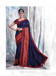 Good Quality Art Design Party Wear Sarees