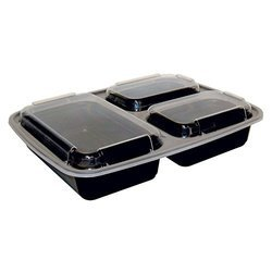 Black Meal Tray