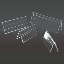 Acrylic Table Desktop Paper Name Plate