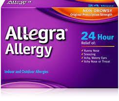Telfast allergy