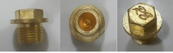 Brass Plug for Transformers Tank