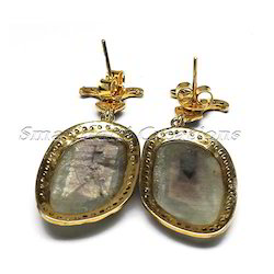 Antique and Eleganta  Style Polki Earring