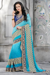 Ethnic Georgette Saree