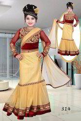 Kids Lehnga Saree