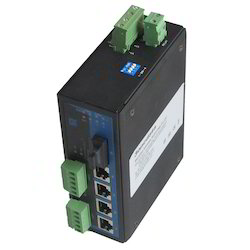 Industrial Ethernet Switch  Serial Device Servers Fiber