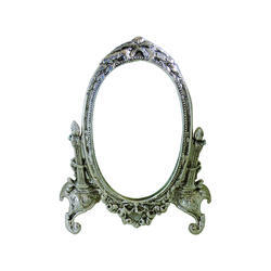 silver polished antique mirrors