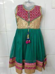 Exclusive Handwork Kids Anarkali Suit