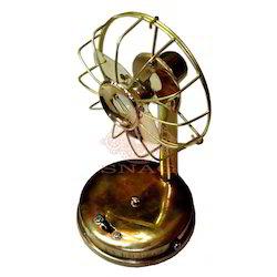 Decorative Brass Fan