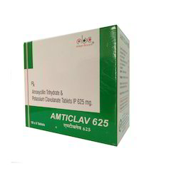 Amoxicillin Trihydrate and Clavulanic Acid Tablet
