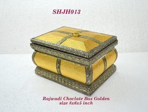 Rajwadi Chocolate  Box Gold