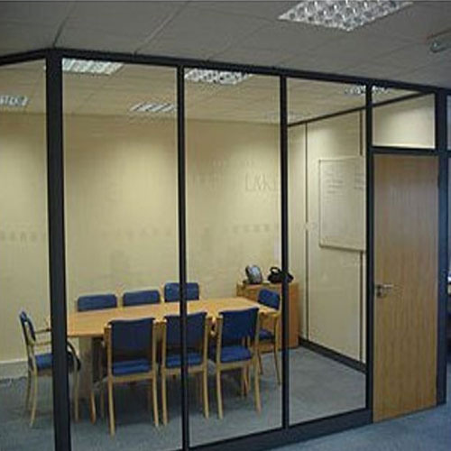 Aluminium Partition Aluminium Frame Glass Partition