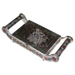 White Metal Tray