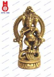Ganesh Dancing on Cobra W/ Ring
