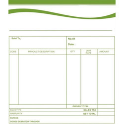 bill printing services