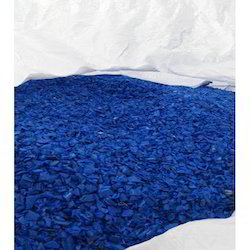 HDPE Blue Grinding Granules
