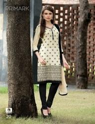 Pure Cotton Fabric Designer Embroidered Salwar Suit