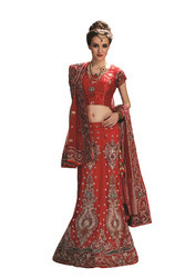 Wedding Embroidered Lehenga