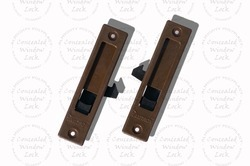Concealed Sliding Window Lock