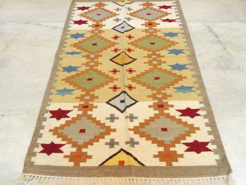 Knotted Kilim Rugs Carpet