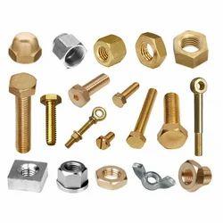 Brass Knurled Nuts