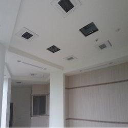 Gypsum False Ceiling with Fixing