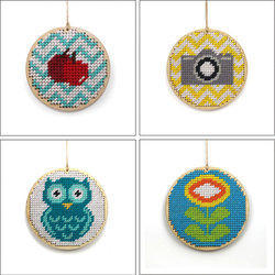 Cross Stitch Tag