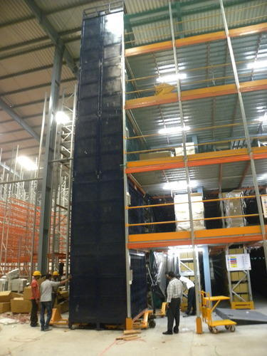 Two Post Vertical Reciprocating Conveyor