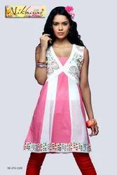 Style Designer Party Wear Tunic Kurti Top