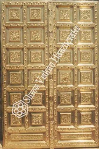 Traditional Temple Door