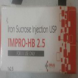 Iron Sucrose Injection -2.5 ml