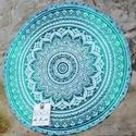 Cotton Throw Yoga Roundie