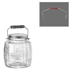 Plastic Jars Handles for Sweets Jar