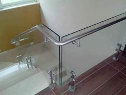 Commercial Stainless Steel Glass Railing