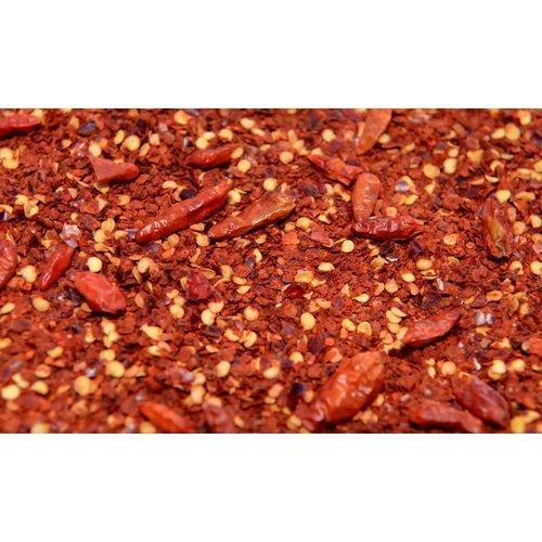 Kibbled Chilli with Seeds