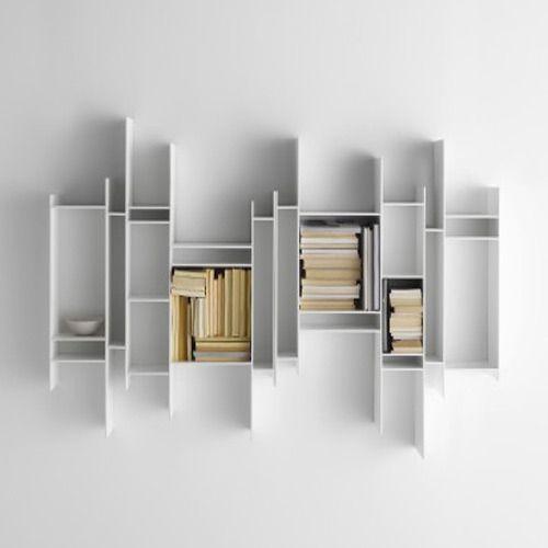 Modern Bookshelves Wall Mounted Bookshelves Manufacturer from Delhi