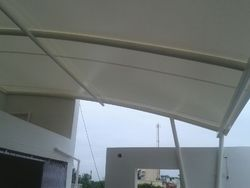 Ballcony Covering Membrane Tensile Fabric Structures