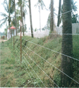 Solar Power Fence for Farm ( from Ground Level)