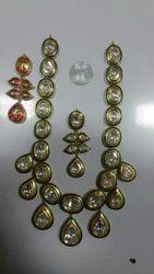 Ethnic Kundan Meena Jewellery