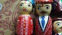 Decorative Dolls Keychain