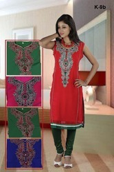ladies embroidery kurtis