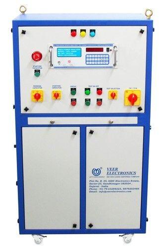Electric Motor Testing Panel